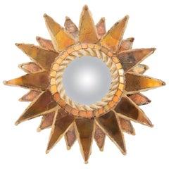 """Mirror """"Soleil à pointes n°0"""""""