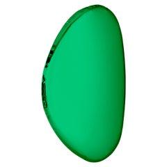 Mirror Tafla O2 Emerald, in Polished Stainless Steel by Zieta