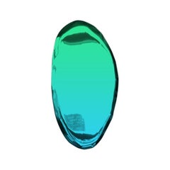 Mirror Tafla O4 Gradient, in Polished Stainless Steel by Zieta
