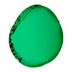 Mirror Tafla O6 Emerald, in Polished Stainless Steel by Zieta