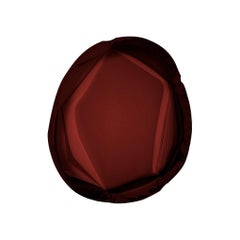 Mirror Tafla O6 Rubin Red, in Polished Stainless Steel by Zieta