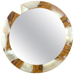 Mirror with Onyx Frame