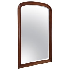 Mirror with Solid Mahogany Frame