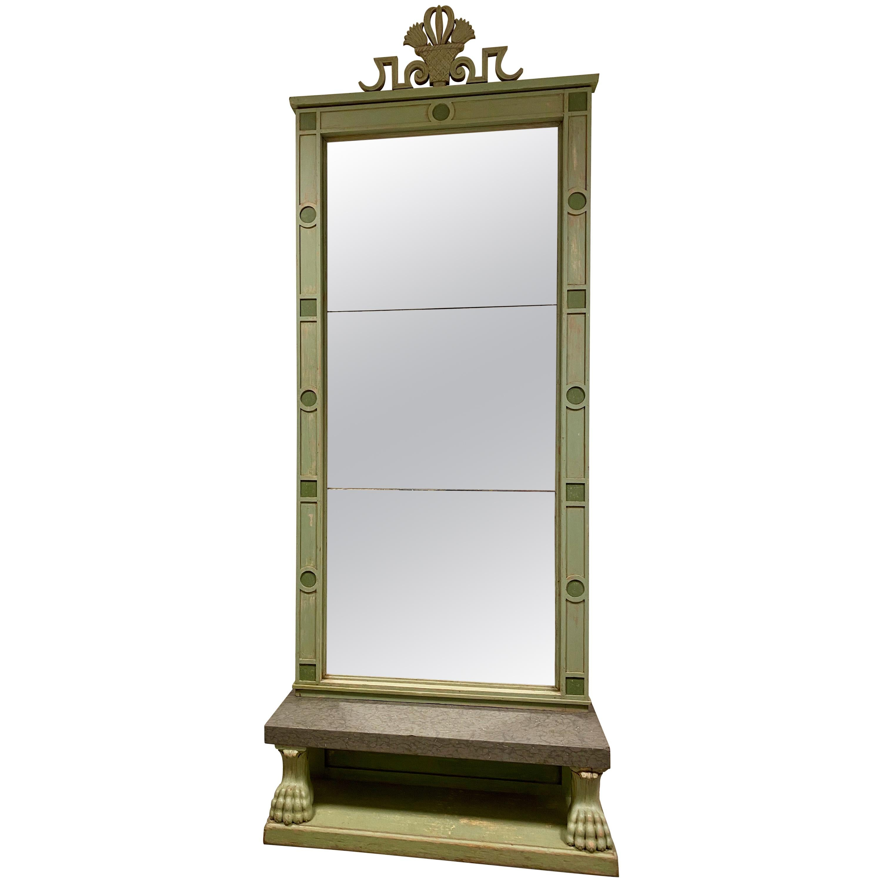 Mirror with Table, Swedish Grace, 1920s