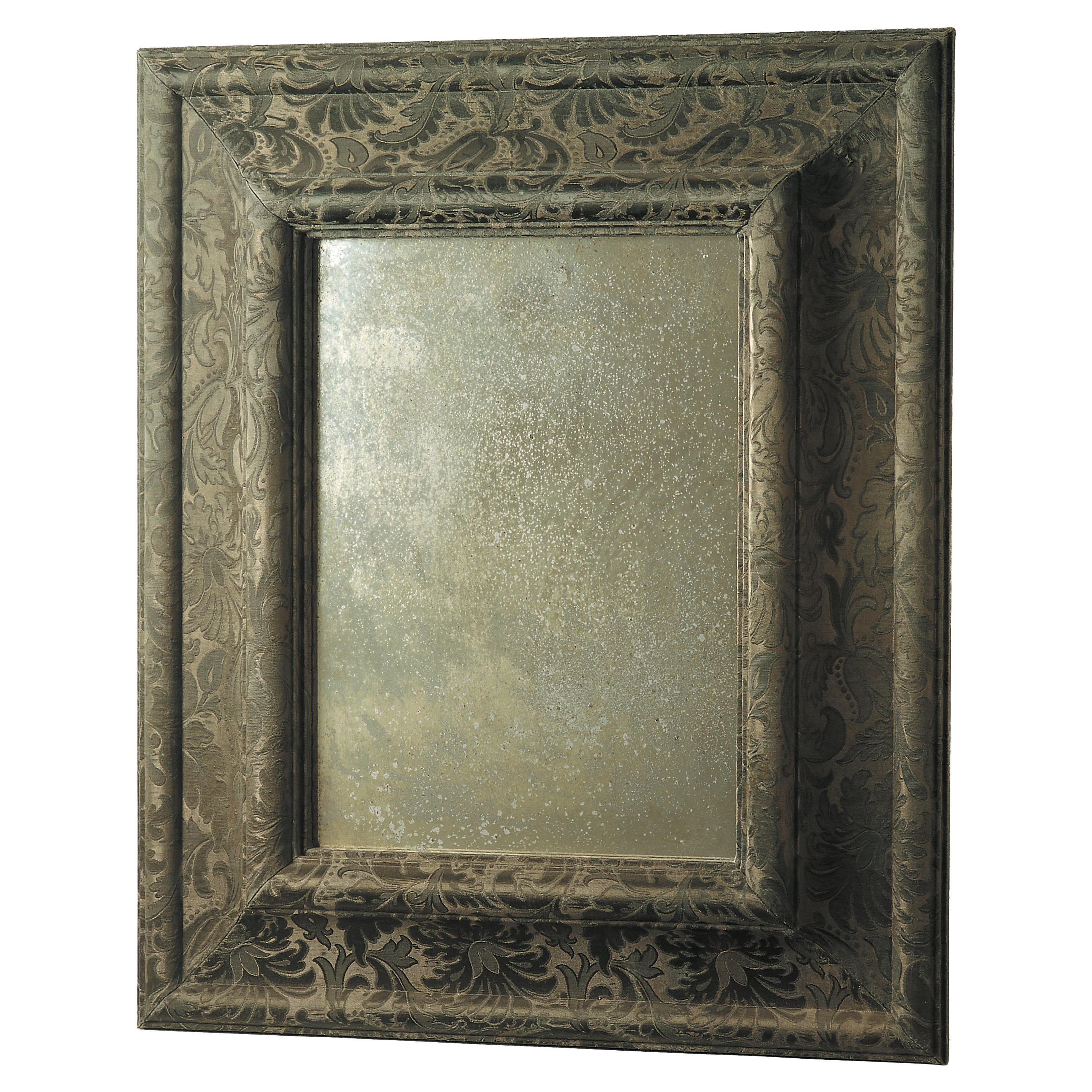 Mirror Wood Frame Wrapped in Fabric