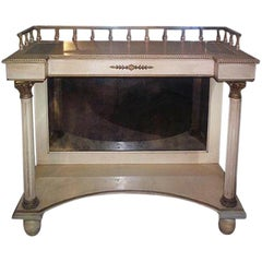 Mirrored Back Italian Console