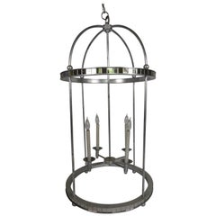 Mirrored Birdcage Chandelier