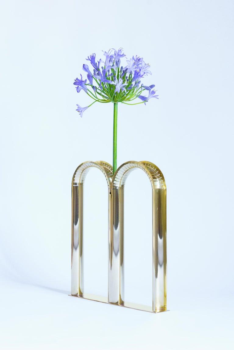 Modern Mirrored Brass