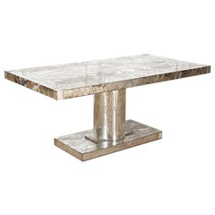 Mirrored Mosaic Dining Table by Daniel Clement