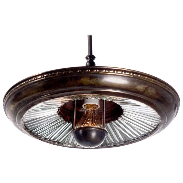 Mirrored Ring Reflector Pendants For Sale