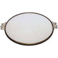 Mirrored Tray by Osvaldo Borsani, 1950s