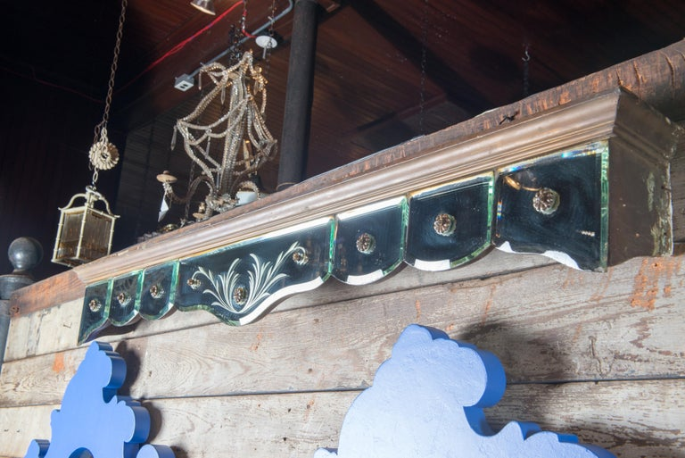American Mirrored Valance For Sale
