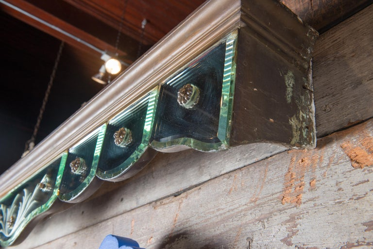 Mid-20th Century Mirrored Valance For Sale