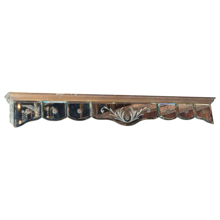 Mirrored Valance For Sale