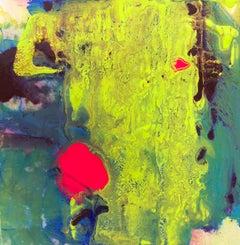 Acrylic Painting Titled: Citron Borealis