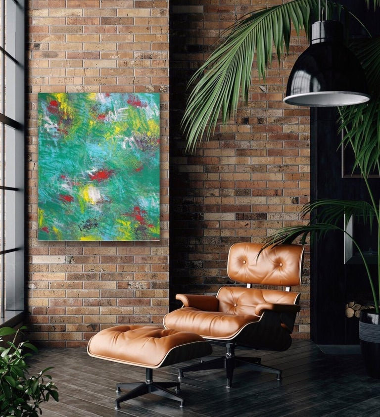 Large Oil Painting on Canvas Titled:
