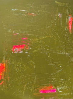 """Oil Painting on Panel Titled """"Meloncholy Moss"""""""