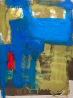 Original Oil Painting on Canvas Titled: Blue Monday