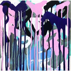 """Pigmented Ink on Panel Painting Titled: """"So & So"""""""