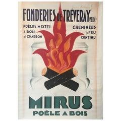 'MIRUS' by Charles Loupot Original Vintage Poster, circa 1935