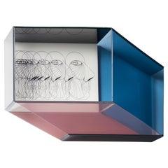Miscredenza Bookcase Horizontal, Design Patricia Urquiola & Federico Pepe