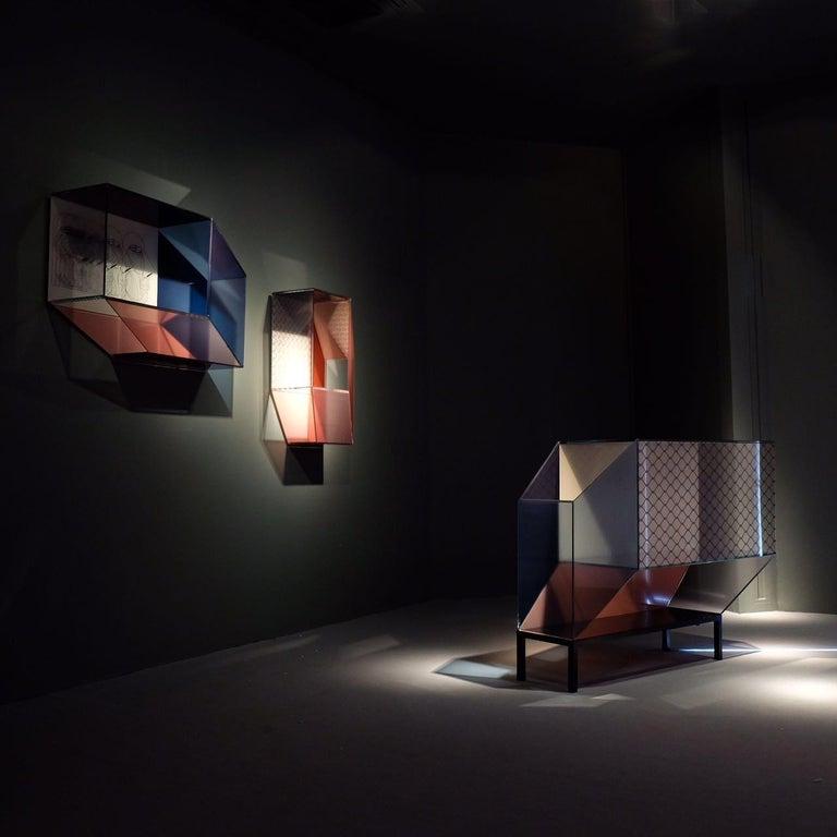 Modern Miscredenza Bookcase Vertical, design Patricia Urquiola & Federico Pepe For Sale