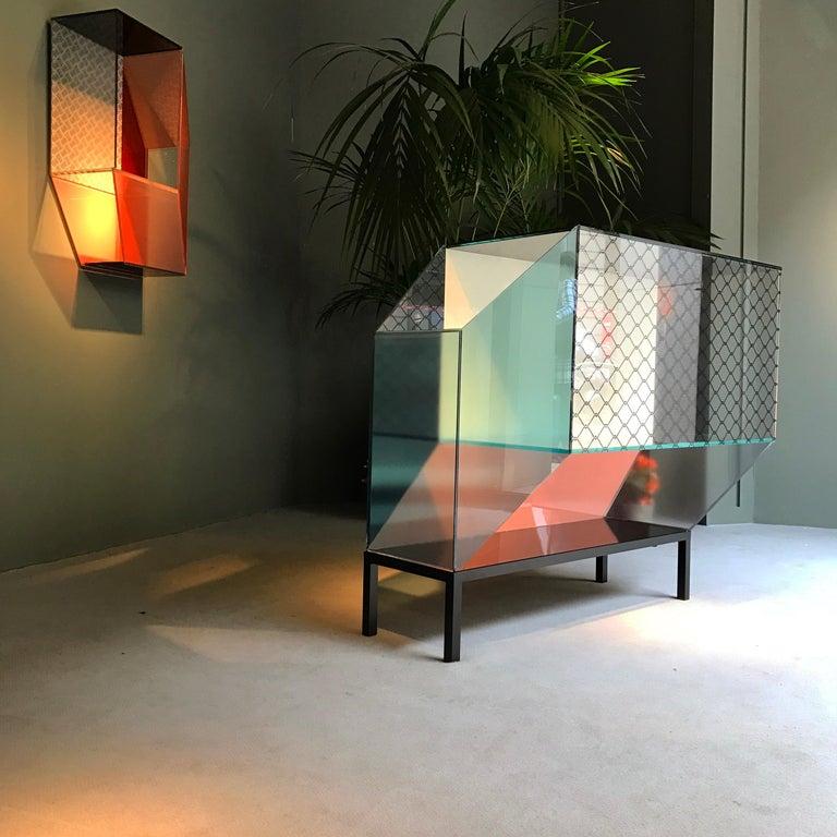 Italian Miscredenza Bookcase Vertical, design Patricia Urquiola & Federico Pepe For Sale