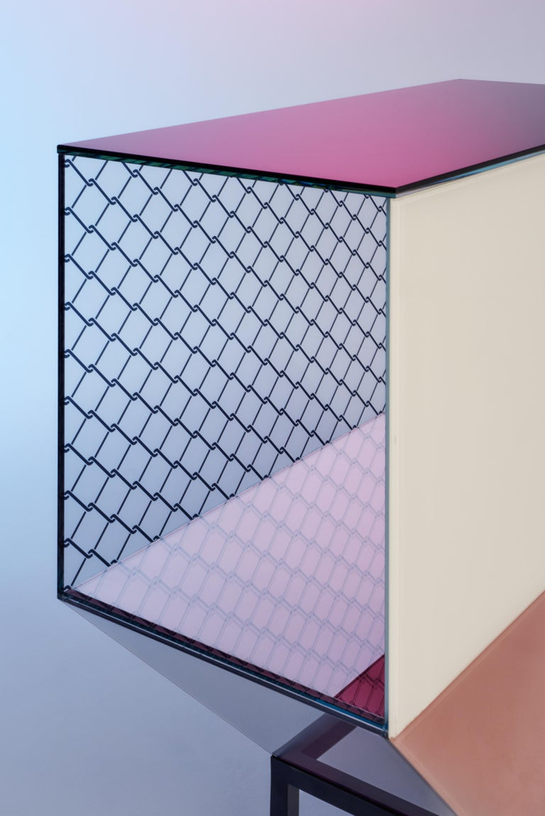 Modern Miscredenza Sideboard, Design Patricia Urquiola & Federico Pepe For Sale