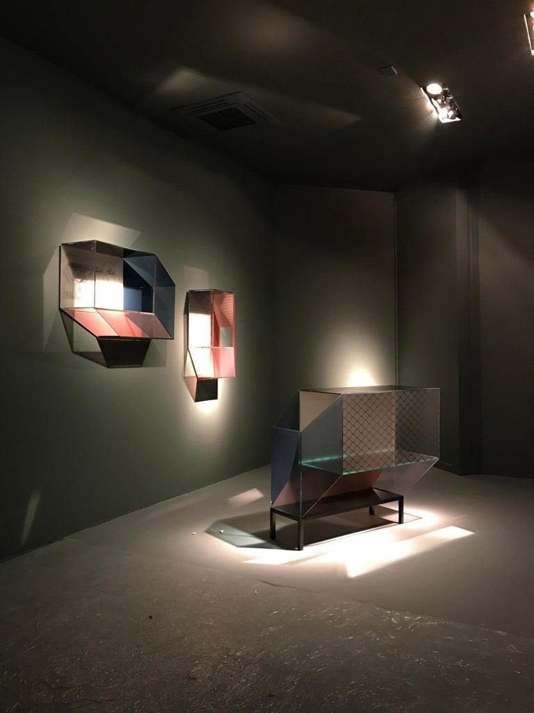 Contemporary Miscredenza Sideboard, Design Patricia Urquiola & Federico Pepe For Sale