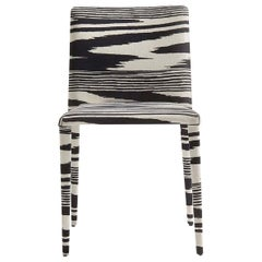Miss Black and White Chair by MissoniHome