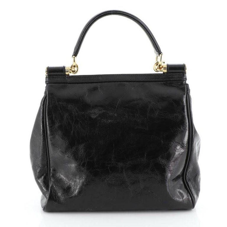 Miss Sicily Bag Leather North South In Good Condition For Sale In New York, NY