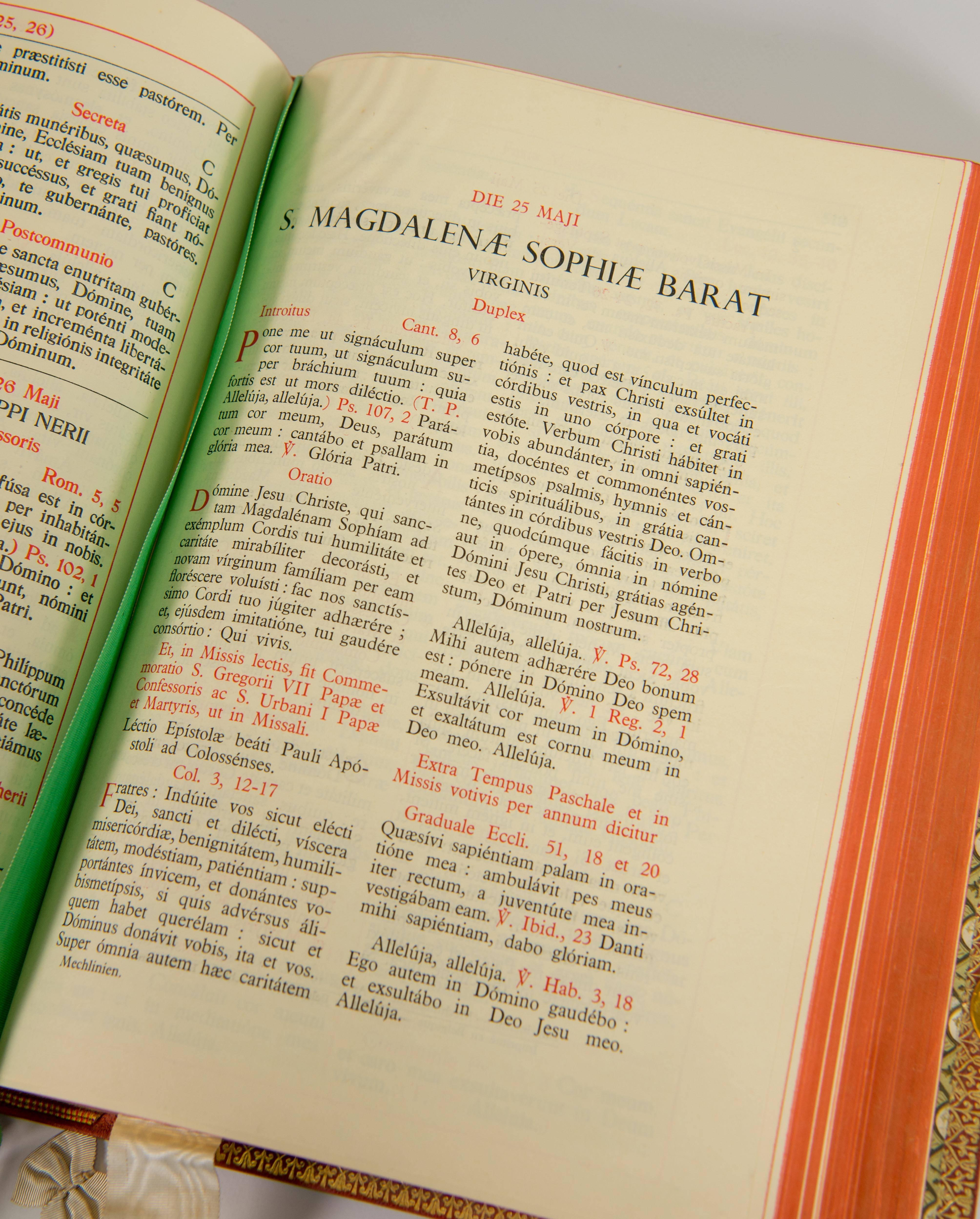 Missale romanum latin online dating