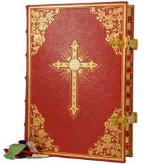 Missale Romanum, Vintage Catholic Church Missal for Mass Celebration in Latin