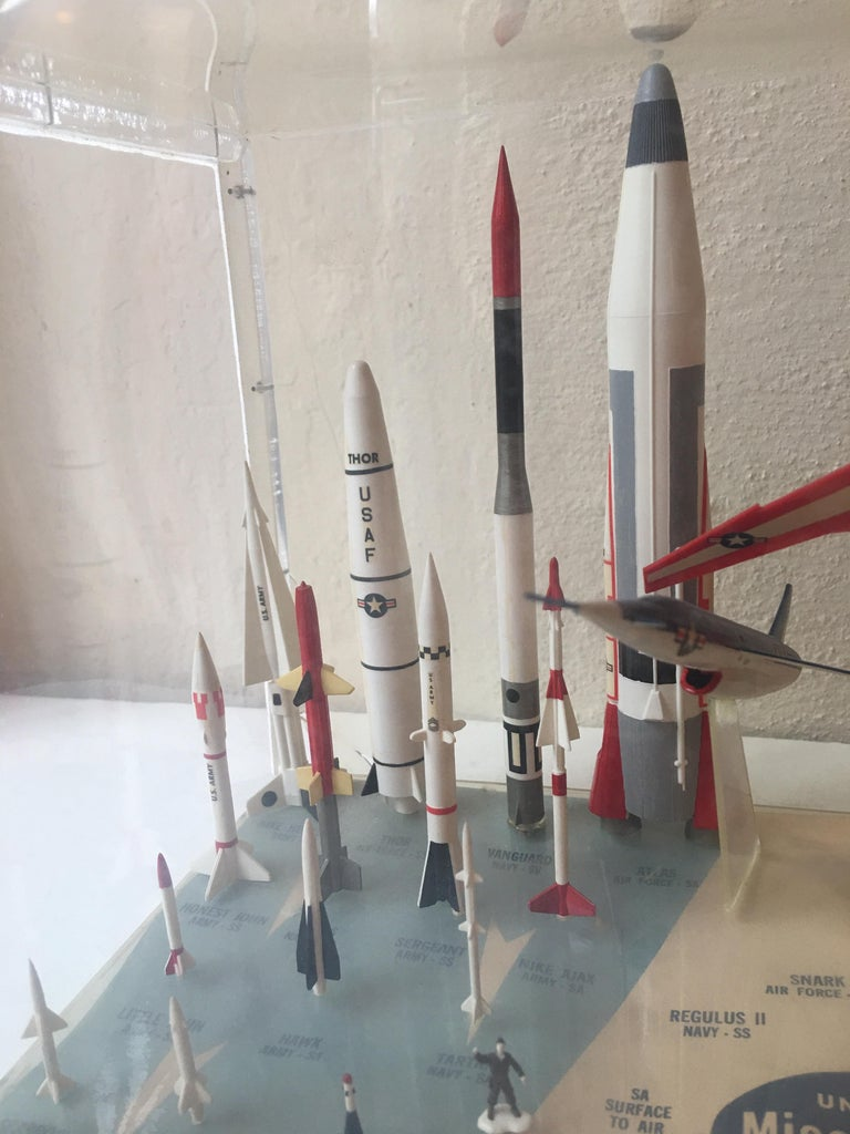 American Missile Arsenal by Monogram, 1958 For Sale