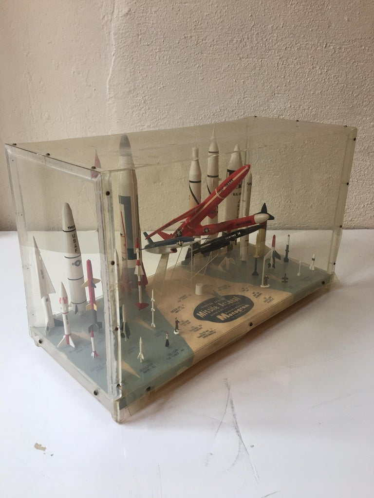 Missile Arsenal by Monogram, 1958 In Good Condition For Sale In Philadelphia, PA