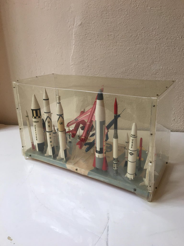 Mid-20th Century Missile Arsenal by Monogram, 1958 For Sale