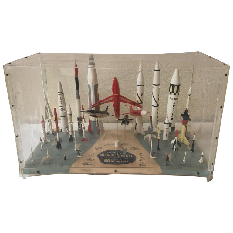 Missile Arsenal by Monogram, 1958 For Sale