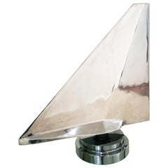 Missile Tail Fin Metal Sculpture