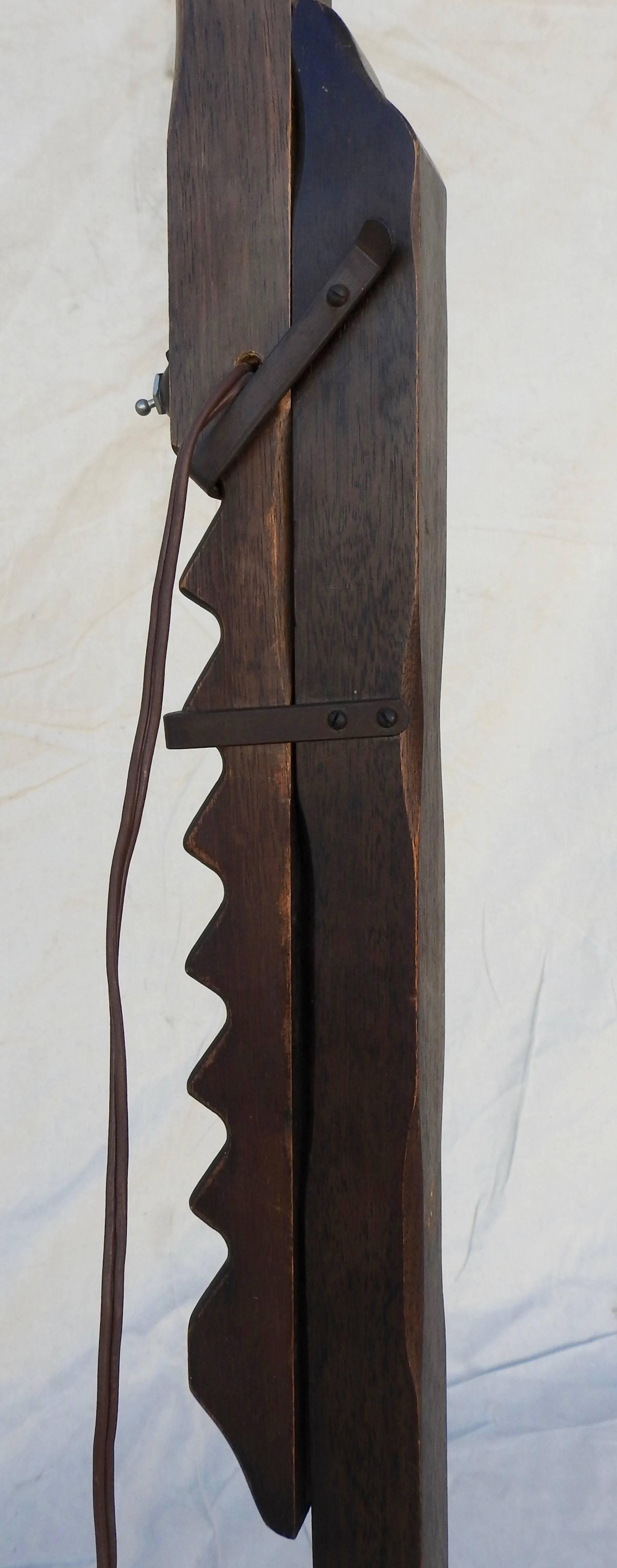Crafts Wooden Floor Lamp