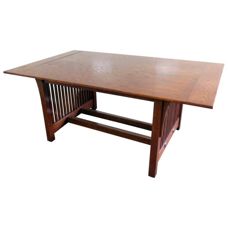 Mission Style Dining Room Tables: Mission Style Dining Room Table For Sale At 1stdibs