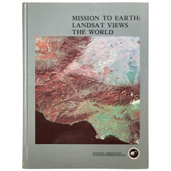Mission to Earth Landsat Views the World 'NASA SP-360' Hardcover, 1976