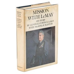Mission with LeMay My Story by General Curtis E. LeMay, Signed First Edition
