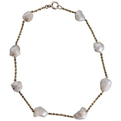 Mississippi River Pearl Necklace of Extraordinary Beauty and Scarcity