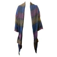 Missoni 90s Knit Drapery Coat