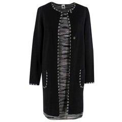 Missoni Black & Grey Knit Dress & Jacket Set - Size US 8