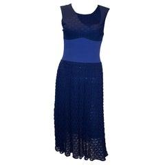 Missoni Brown Label Blue Dress