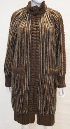 Missoni Brown Label Wool Coat