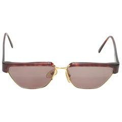 Missoni Brown Tortoiseshell Prescription Sunglasses