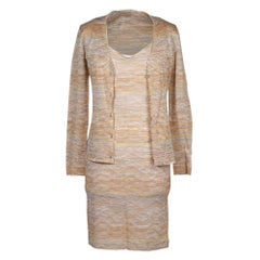 Missoni Dress and Cardigan Soft Pastel Colours Versatile 4 to 6