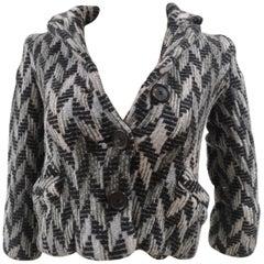 Missoni grey multicoloured wool jacket